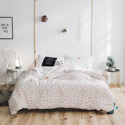2018小清新系列全棉斜纹冬被 150x200cm 小草莓