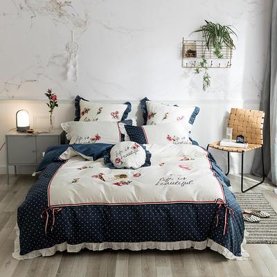 60S埃及长绒棉四件套-暗香 1.8m(6英尺)床 暗香