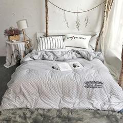 100%斜纹全棉商务款冬被 200X230cm(6.8斤) 魔方
