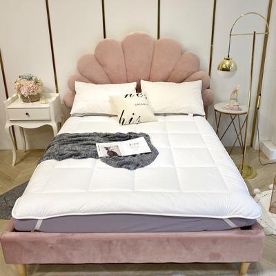 2019新款-Ys-纯棉松紧带床褥子 1.0*2.0 白色