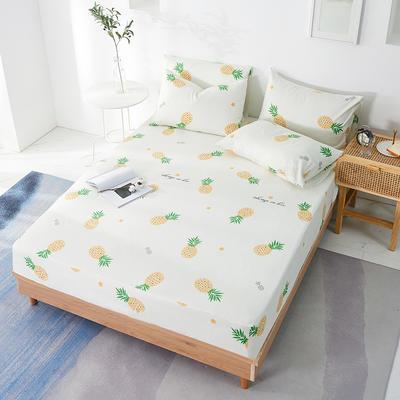 2020年新款全棉多规格单床笠 150cmx200cm 菠萝