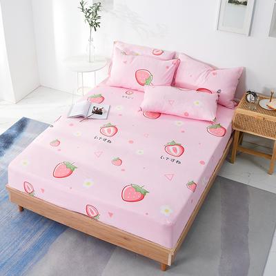 2020年新款全棉多规格单床笠 120cmx200cm 甜心草莓