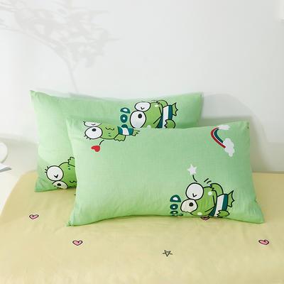 2020年新款全棉枕套一对装 48cmX74cm/对 青蛙王子