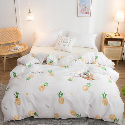 2020年新款全棉多规格单被套 150x200cm 菠萝