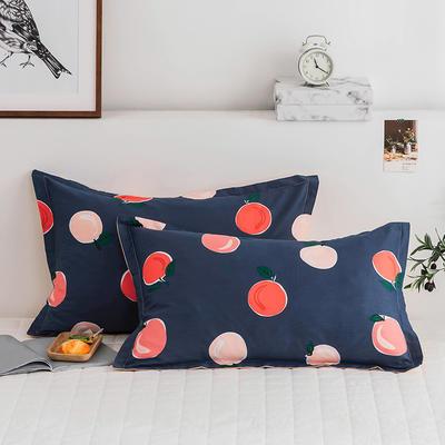 2020新款13070全棉单枕套 48cmX74cm/对 水果家族