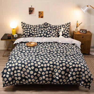 2020新款13070全棉四件套实拍图 1.2m床单款三件套 小雏菊