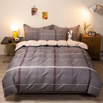 2020新款13070全棉四件套实拍图 1.2m床单款三件套 以陌