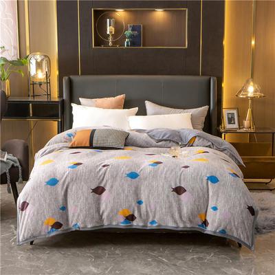 2020新款贝贝绒复合毯 155*220cm 自由自在-复合毯