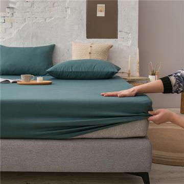 2021新款 单品床笠、床笠三件套 席梦思保护套-40s长绒棉-兰紫橙家纺