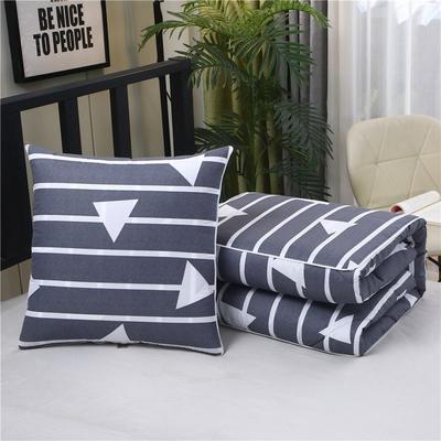 2020新款精梳棉抱枕被 1.5*1.95m 几何三角