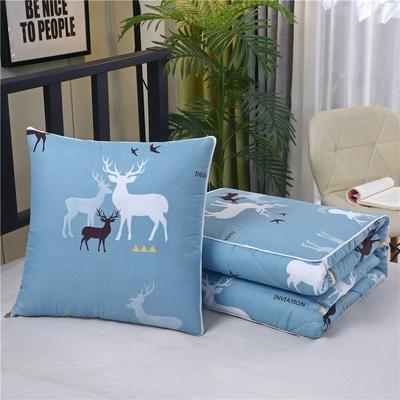 2020新款精梳棉抱枕被 1.5*1.95m 鹿家庭