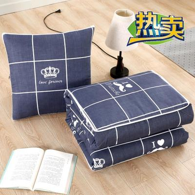 2020新款精梳棉抱枕被 1.5*1.95m 永恒之恋
