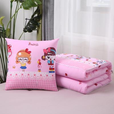 2020新款精梳棉抱枕被 1.5*1.95m 小公主
