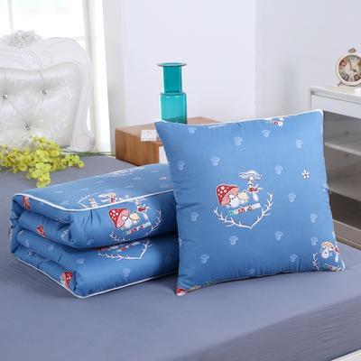 2020新款精梳棉抱枕被 1.5*1.95m 爱的蘑力