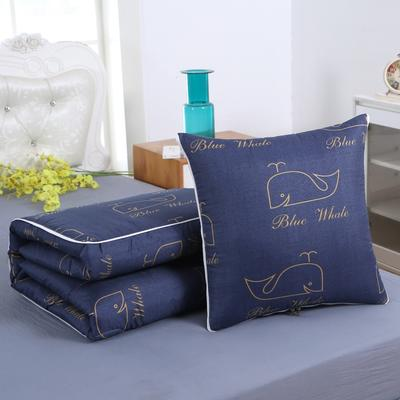 2020新款精梳棉抱枕被 1.5*1.95m 鲸鱼宝宝