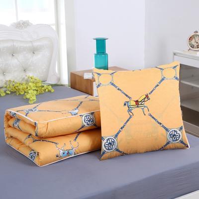 2020新款精梳棉抱枕被 1.5*1.95m 罗马假日