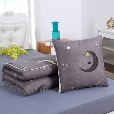 2020新款精梳棉抱枕被 1.5*1.95m 星月之恋