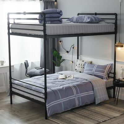 2019新款全棉单人床三件套 适用床-0.9-1.2m 玛格瑞娜
