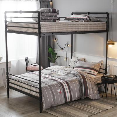 2019新款全棉单人床三件套 适用床-0.9-1.2m 印象莫奈