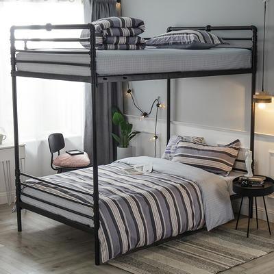 2019新款全棉单人床三件套 适用床-0.9-1.2m 自由世界
