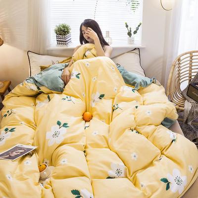 2019新款棉加绒单被套 150x210cm 莎莉花园