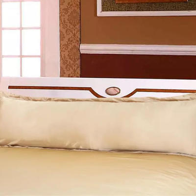 2020新款水洗真丝四件套系列—单品长枕套 长枕48x120cm/只 驼色