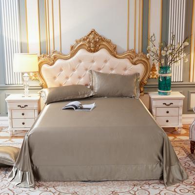 2020新款水洗真丝四件套系列—单品床单 230*250cm床单(直角) 香槟金