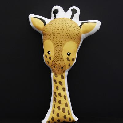 卡通抱枕 其他规格 长颈鹿抱枕