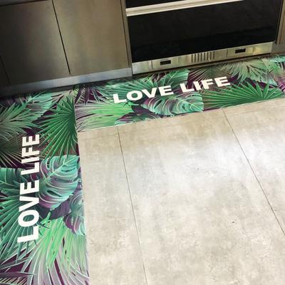 2019新款-都市系列居家多用途地垫 45*75cm 绿色生活