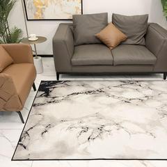 2018新款都市系列雪尼尔无毛地毯 1400MMx2100MM 大理石纹理