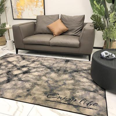 2019新款都市系列雪尼尔无毛地毯 1400MMx2100MM 欧式纹理