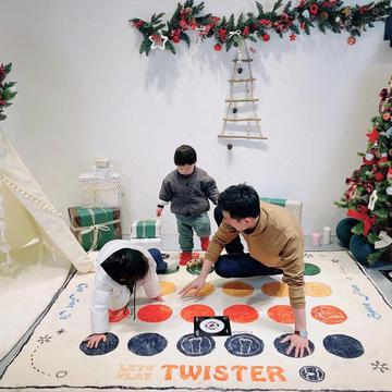 2018新款TWISTER扭扭乐游戏地毯