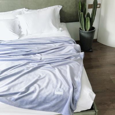 ?#22902;?#21320;睡薄毛毯被子盖毯纯色空调毯单人午休毯子办公室北欧沙发毯 120*200cm ?#26131;?#33394;
