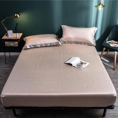 床笠款冰丝凉席1.8m床可水洗折叠夏天季1.5米空调软席子三件套2.0 120*200 安达