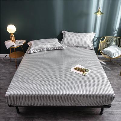 床笠款冰丝凉席1.8m床可水洗折叠夏天季1.5米空调软席子三件套2.0 120*200 伯特