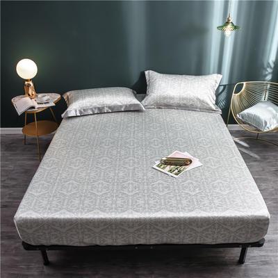 床笠款冰丝凉席1.8m床可水洗折叠夏天季1.5米空调软席子三件套2.0 120*200 克瑞斯
