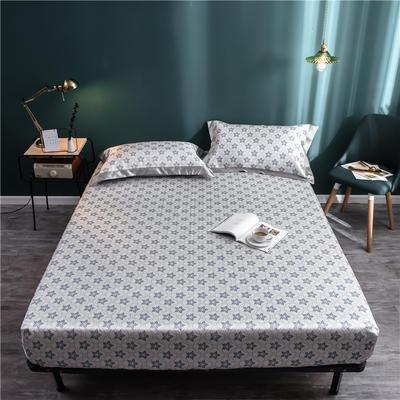 床笠款冰丝凉席1.8m床可水洗折叠夏天季1.5米空调软席子三件套2.0 120*200 紫金花