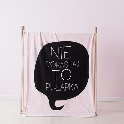 2019北欧加厚儿童双层绒毯 100*140cm (送精致高档礼盒) 原点芬妮