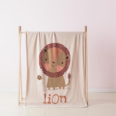 2019北欧加厚儿童双层绒毯 100*140cm (送精致高档礼盒) 狮子王