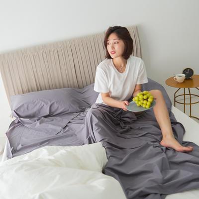 2020新款-60s水洗棉酒店隔脏旅行睡袋 木槿紫130*210cm