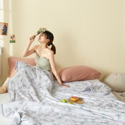 2020新款牛油果美肤莫代尔功能型针织夏被 150x200cm 春和日丽