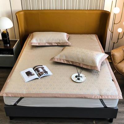 2021新款轻奢系列水洗抗菌养生席—床席款 1.8m床席款 艾玛情怀-金