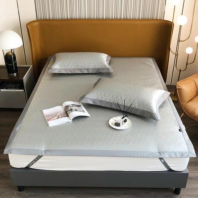 2021新款轻奢系列水洗抗菌养生席—床席款 1.8m床席款 卡珊娜-灰
