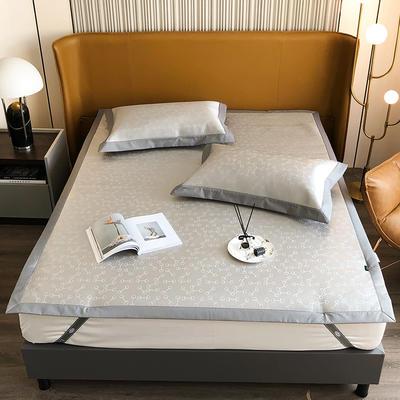 2021新款轻奢系列水洗抗菌养生席—床席款 1.8m床席款 瑞拉-灰