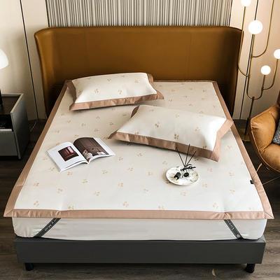 2021新款轻奢系列水洗抗菌养生席—床席款 1.8m床席款 樱桃-白