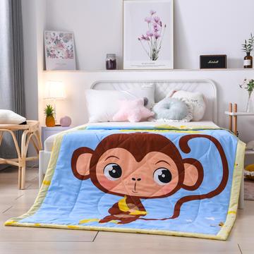 2020新款纯棉空调被儿童夏凉被全棉卡通薄被子幼儿园宝宝婴儿夏被夏季午睡
