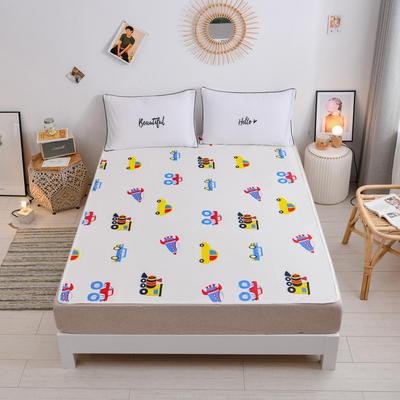2020新款隔尿垫大号超大婴儿童防水可洗夏天透气保护床垫可水洗床单防尿床垫姨妈垫 缤纷汽车(50*70cm床单款)