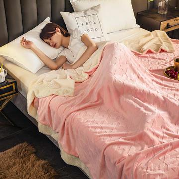 2020新款加厚贝贝绒被套冬季保暖珊瑚绒多功能毯子牛奶绒法莱绒单被套