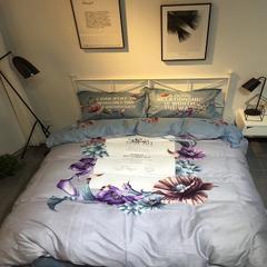 简美花卉实拍图 小号1.2-1.5m床(三件套) 倾城