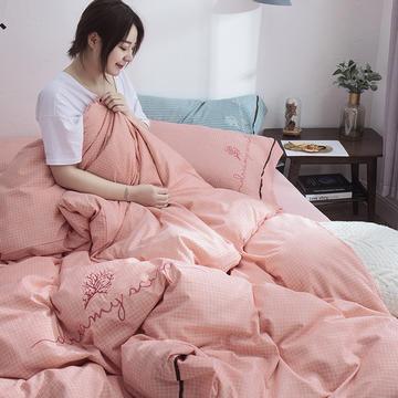 2019新品洛卡棉四件套 1.2m(4英尺)床三件套 洛格-玉
